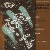 Concerts du Domaine Musical 1956