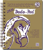 Dodo Pad Mini / Pocket Diary 2016 - Week to View Calendar Year