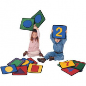 Carpets for Kids Carpet Kits Shape / Number Block Area Rugs