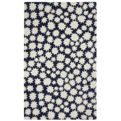 Capel Rugs Heavenly Black/White Area Rug