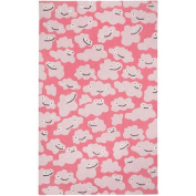 Capel Rugs Puffy Pink Area Rug