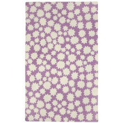 Capel Rugs Heavenly Purple/White Area Rug