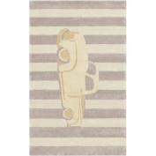 Surya Young Life Striped Car Beige Area Rug