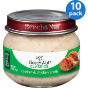 Beech-Nut Classics Stage 1 Chicken & Chicken Broth Baby Food, 70ml,