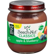 Beech-Nut Stage 2 Homestyle Apples & Blueberries Baby Food, 120ml