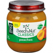 Beech-Nut Stage 2 Peaches Fruit, 120ml