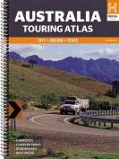 Australia Touring Atlas A4 Spiral