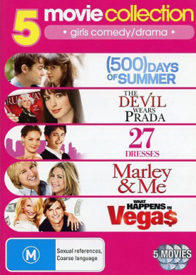 9321337134734 UPC 5 Movie Collection : 500 Days of Summer