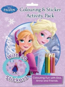 Disney Frozen Colouring and Sticker Activity Pack