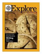 Explore Common Core State Standards Writing Grade 5 Teacher Edition