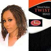 Nubian Twist-Diana-Natural Nubian Twist Braid
