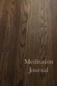 Meditation Journal: Wood
