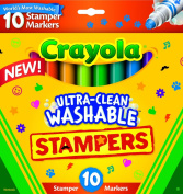 . 10-Count Ultra Clean Expression Stamper Markers