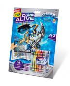 .   Colour Alive Action Colouring Pages - Skylanders