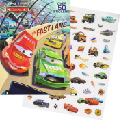 "Disney/Pixar CARS Colouring Book with Stickers ""The Fast Lane"""