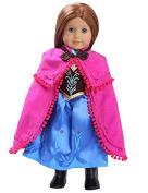 Anna Inspired Doll Clothes for American Girl Dolls