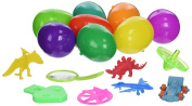 Easter Eggs with Toys Inside Filled with Toy - Assortment Easter Toys - Plastic Easter Eggs Hinged Together for Easy Assembly - Surprise Eggs Pack of 24 - Great for Easter Egg Hunt - Special Easter Egg Surprise From BIG Deals Multi Colour Highlighter