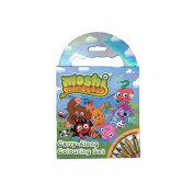 Moshi Monsters - Carry Along Colouring Set