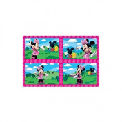 Minnie Mouse Jigsaw - 4 pack