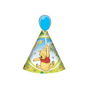 Winnie The Pooh And Piglet - Cone Hats 6Pk