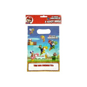 Mario Bros Loot Bags - 8 pack