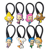 8 pcs Bubble Guppies # 3 Soft Zipper Pull Charms for Backpack Bag Pendant Jacket