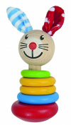 HEROS Baby Wooden Rattle Rabbit