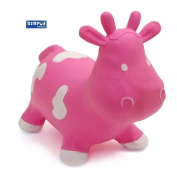 Skippy the Bouncy Space Hopper Cow, Pink