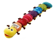Ama-ZODE Popular and Colourful Musical Inchworm Soft Lovely Developmental Child Baby Toy
