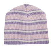 TICK TOCK Baby Girls Beanie Hat Stripy Cold Weather Winter Warm Soft