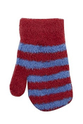 TICK TOCK Baby Boys Mittens Gloves Stripy Super Soft Fleece Winter Thermal Cosy