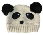 TheWin Fashion Lovely Baby Kids Girls Boys Warm Winter Knit Crochet Hat, Beige