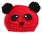 TheWin Fashion Lovely Baby Kids Girls Boys Warm Winter Knit Crochet Hat, Red