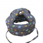 Baby & Infant Toddler Safety Helmet Head Protection Cap Blue Stars