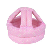 Baby & Infant Toddler Safety Helmet Head Protection Cap Polka Dot