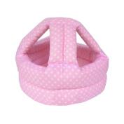 Baby & Infant Toddler Safety Helmet Head Protection Cap Polka Dot