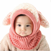 Ukamshop(TM)Winter Baby Kids Girls Boys Warm Woollen Coif Hood Scarf Caps Hats