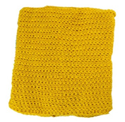 TheWin Children Warmer Pure Colour Scarf, Yellow