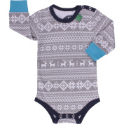 Fred's World by Green Cotton Baby Boys 0-24m Nordic Body Footies