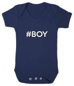 #Boy Babygrow