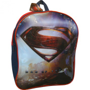 Boys Superman Man of Steel School Travel Backpack Bag