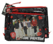 1D One Direction Set of 2 Cosmetic Bags