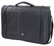 Gino Ferrari Black Brizo Laptop Messenger Bag
