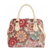 Signare Womens Ladies Tapestry Fashion Handbag Across Body Bag (Convertible) Kaleidoscope