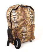 New Womens Girls Animal Tiger Zebra Print Backpack School Bag Rucksack Handbag BP-20