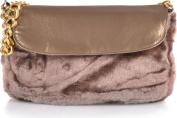 Contempo Women's Clutch Brown Bronze / Braun
