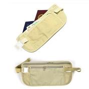 TR.OD Travelling Sports Pouch Hidden Bag Security Money Waist Belt Coins Wallet Khaki