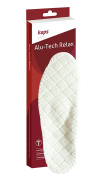 Orthotic warm winter insoles for flat feet, Kaps Alu Tech Relax, all sizes