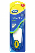 Scholl Active Sports Insoles Gel for Men