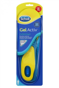 Scholl Active Everyday Insoles Gel for Men
